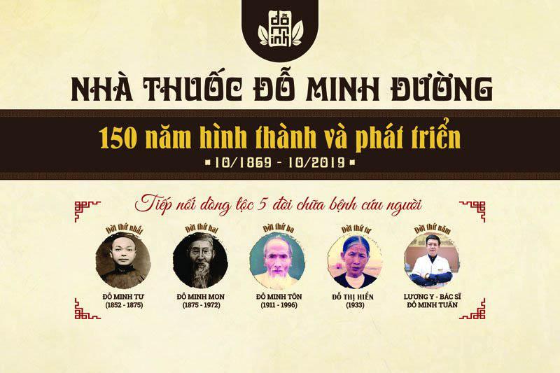 Kỷ Niệm 150 Năm Chữa Bệnh Cứu Người của Nhà Thuốc Đỗ Minh Đường - Đỗ Minh Đường