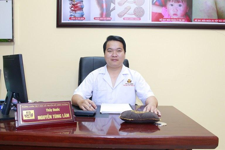 Bác sĩ Nguyễn Tùng Lâm - Phó giám đốc chuyên môn nhà thuốc