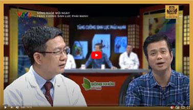 VTV2 - Sống khỏe mỗi ngày - Tư vấn chữa bệnh yếu sinh lý