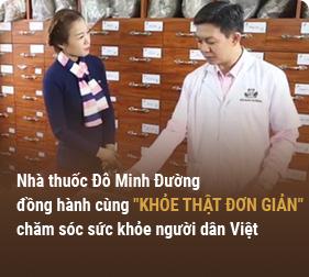 Đồng hành cùng VTV chăm sóc sức khỏe người dân Việt