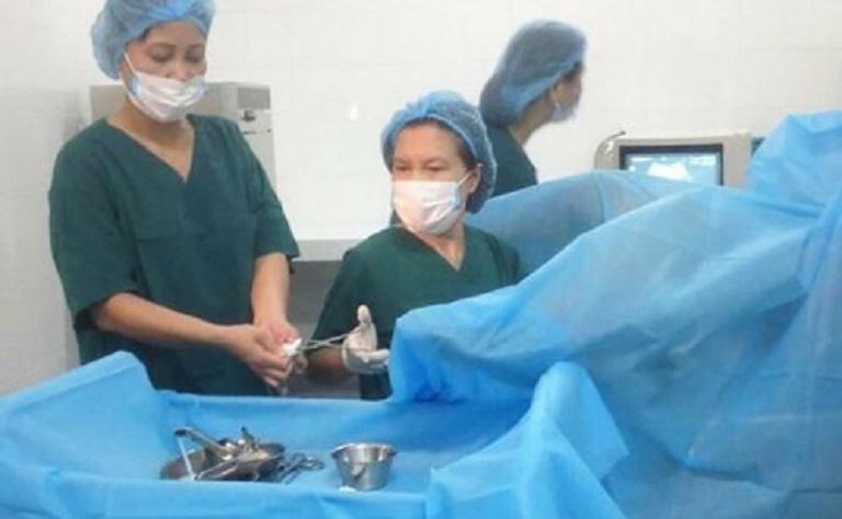 Phẫu thuật được áp dụng khi bệnh lý đã trở nặng