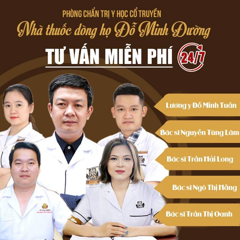 Đội ngũ bác sĩ, lương y chuyên trị bệnh thận của Đỗ Minh Đường