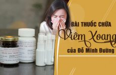 Bài thuốc viêm xoang, viêm mũi dị ứng Đỗ Minh Đường