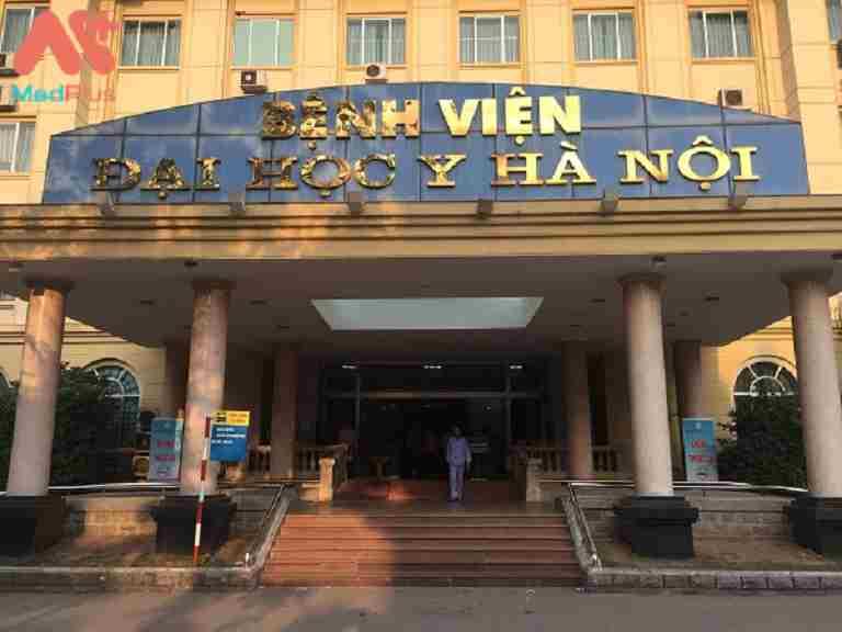 Bệnh viện Đại học Y Hà Nội chữa viêm âm đạo rất tốt