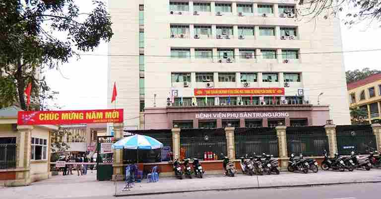 Bệnh viện Phụ Sản Trung Ương là lựa chọn đầu tiên khi chị em có nhu cầu chữa viêm âm đạo ở Hà Nội