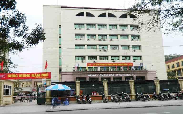 Bệnh viện Phụ Sản Trung Ương là địa chỉ khám viêm âm đạo hiệu quả hàng đầu