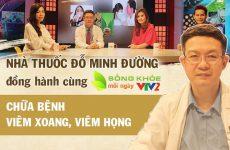 """Bài thuốc viêm xoang Đỗ Minh Đường được giới thiệu xuất hiện trong chương trình """"Sống khỏe mỗi ngày"""" - VTV2"""