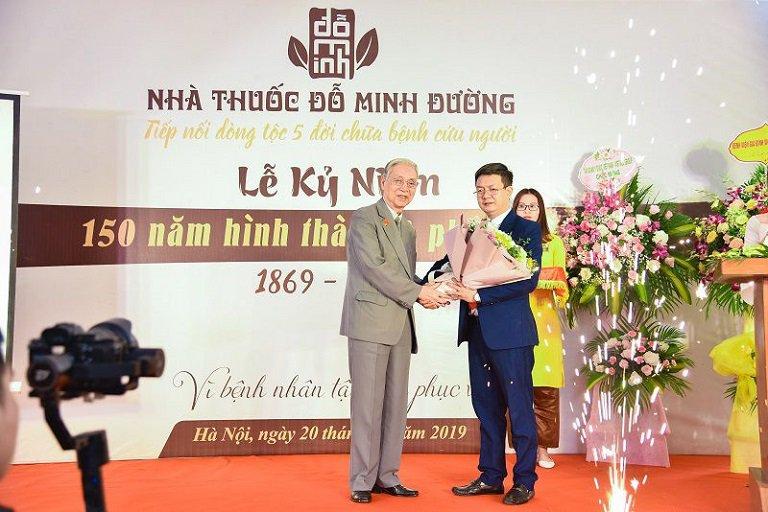Nhà thuốc Đỗ Minh Đường kỷ niệm 150 năm thành lập và phát triển