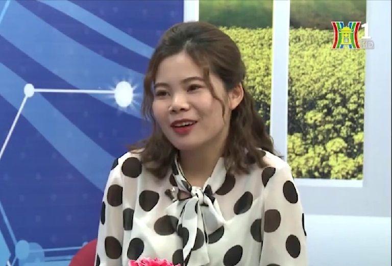 """Chị Phương Mai chia sẻ trong chương trình """"Vì sức khỏe của bạn"""" - Đài PTTH Hà Nội"""