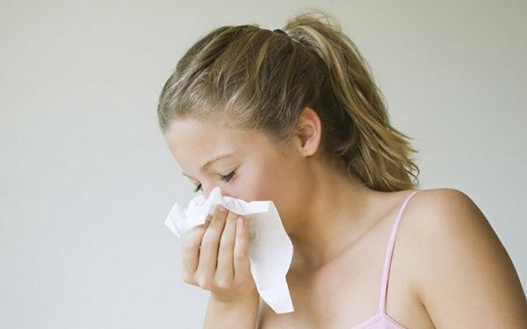 Viêm mũi dị ứng mãn tính xuất hiện khi tình trạng viêm nhiễm kéo dài