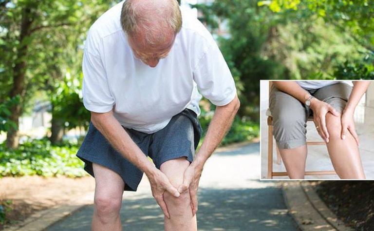 Tuổi càng cao nguy cơ thoái hóa khớp gối càng tăng