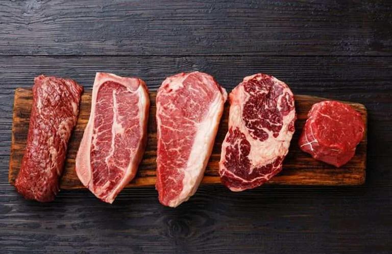 Giảm lượng thịt đỏ mỗi ngày để tránh viêm đau