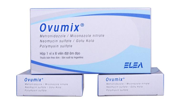 Thuốc chữa viêm âm đạo Ovumix rất tốt