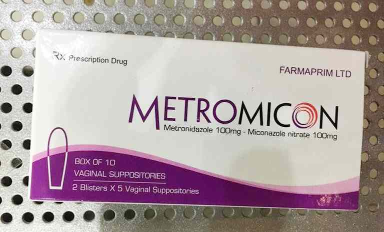 Metromicon là thuốc chữa viêm âm đạo ở mức độ nặng
