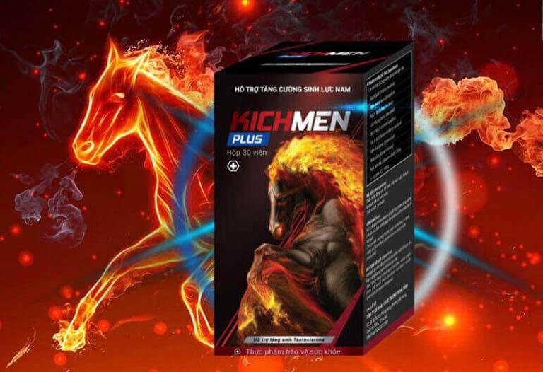 Kichmen Plus là thực phẩm chức năng tăng cường sinh lý nam