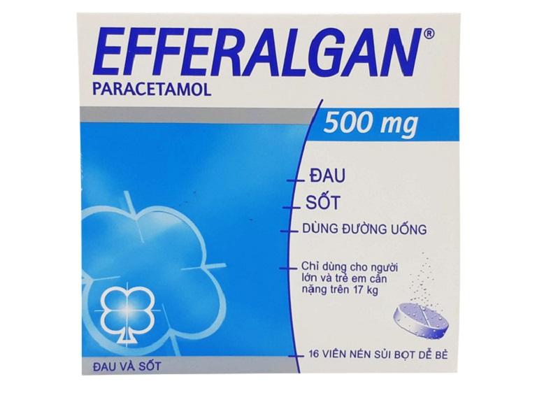 Efferalgan loại thuốc có tác dụng giảm đau được dùng không cần kê đơn