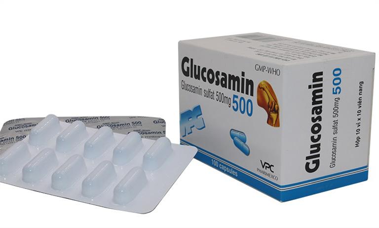 Glucosamine là loại thuốc được bác sĩ khuyến khích bổ sung khi bị thoái hóa khớp gối