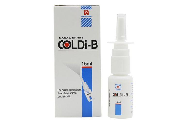 Thuốc trị viêm xoang Coldi-B có thể điều trị bệnh rất nhanh chóng và hiệu quả