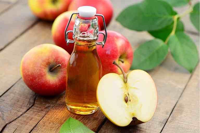 Giấm táo cũng có tác dụng cải thiện các triệu chứng của bệnh
