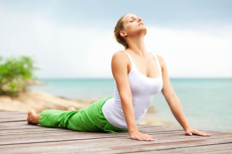 Tập luyện thường xuyên để duy trì sức khỏe tốt