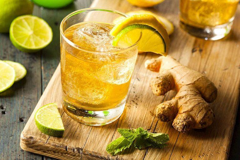 Uống nước chanh gừng làm thuyên giảm triệu chứng viêm họng cấp ở người lớn