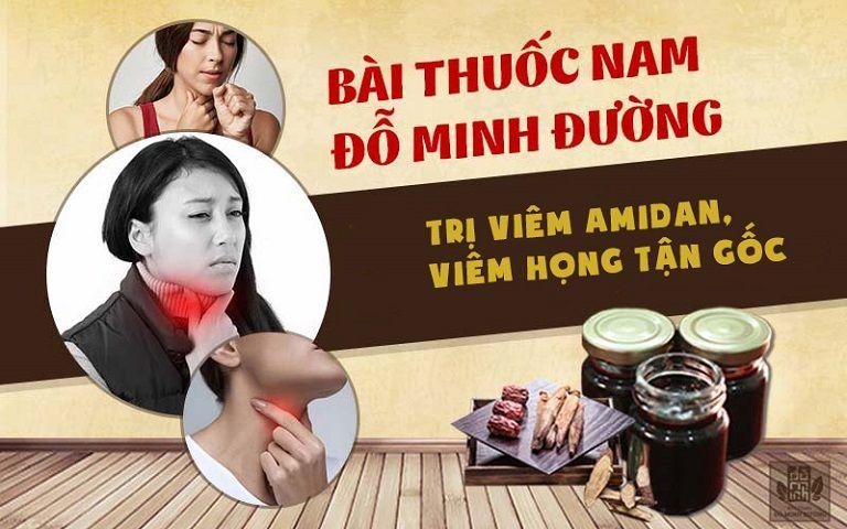 Bài thuốc chữa viêm họng Đỗ Minh Đường