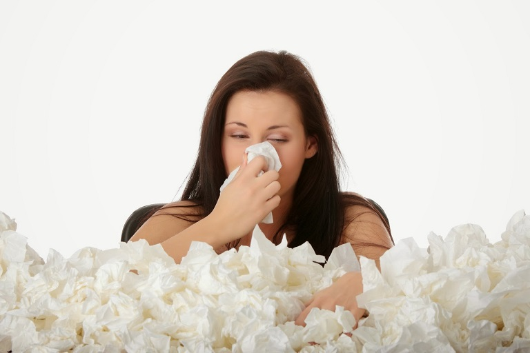 Bệnh có thể gặp ở những người có cơ địa nhạy cảm