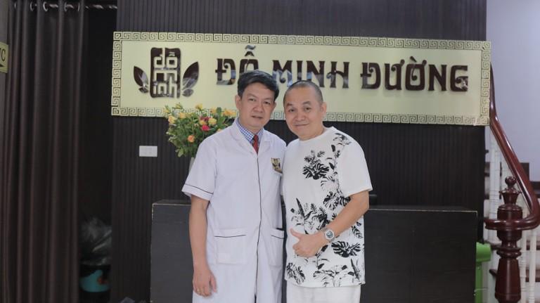 Lương y Đỗ Minh Tuấn chữa khỏi bệnh xương khớp cho Nghệ sĩ Xuân Hinh
