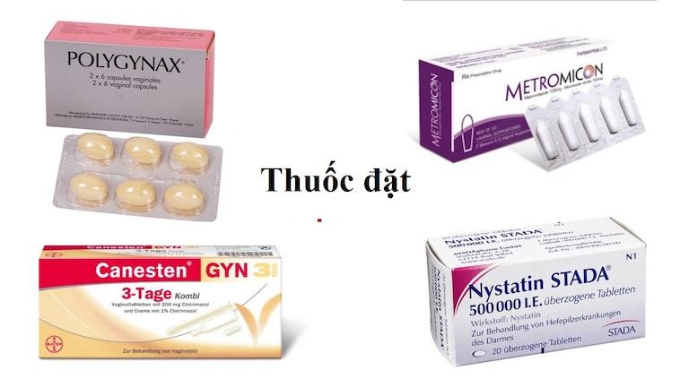 Dùng các loại thuốc đặt trị viêm nhiễm vùng kín đem đến hiệu quả nhanh tại chỗ