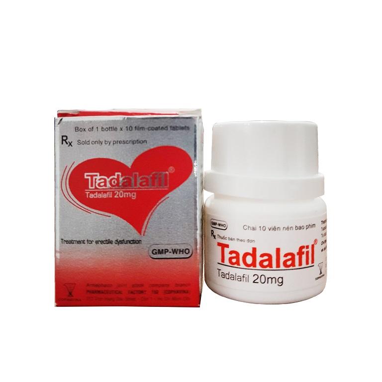 Tadalafil là thuốc trị liệt dương rất phổ biến