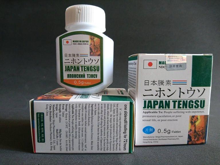 Sản phẩm hỗ trợ chữa rối loạn cương dương của Nhật - Japan Tengsu