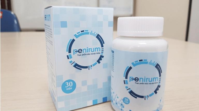 Penirium giúp kiểm soát các vấn đề về sinh lý nam khá hiệu quả