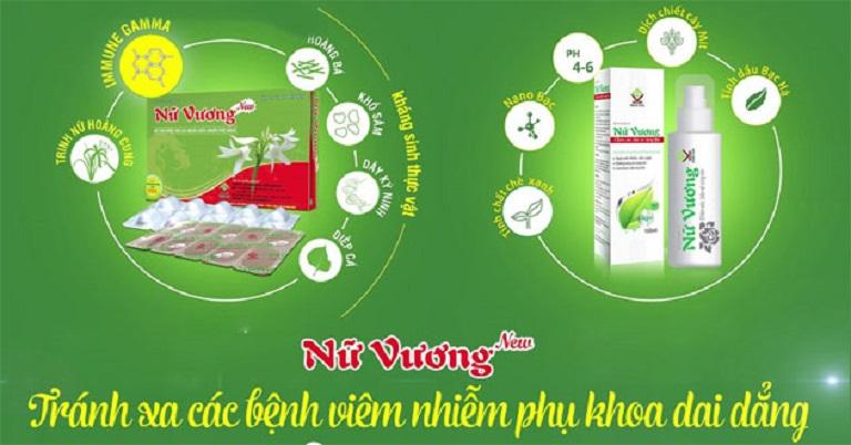 Nữ Vương New điều trị viêm lộ tuyến hiệu quả và phù hợp với cơ địa phụ nữ Việt