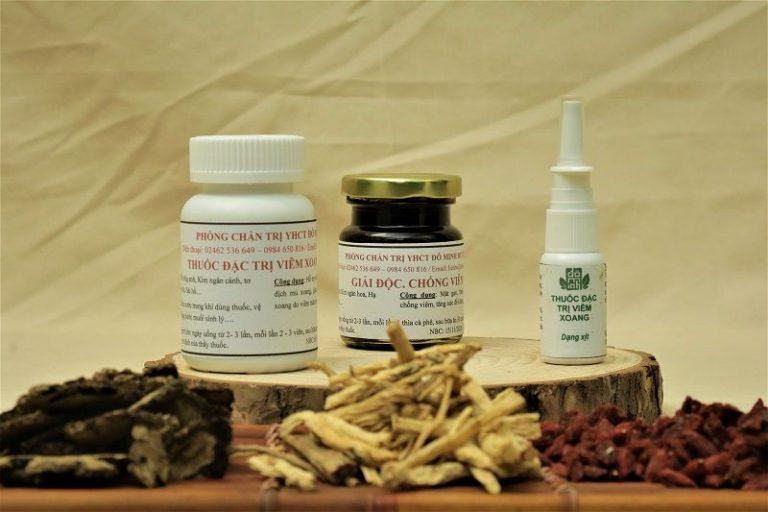 Bài thuốc Viêm xoang Đỗ Minh Đường 150 năm tuổi
