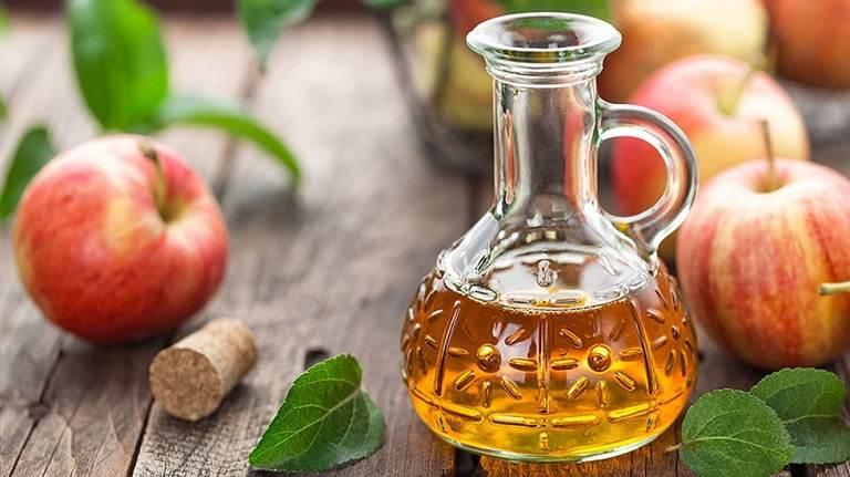 Giấm táo cũng là bài thuốc dân gian được sử dụng để chữa bệnh viêm đa nang buồng trứng