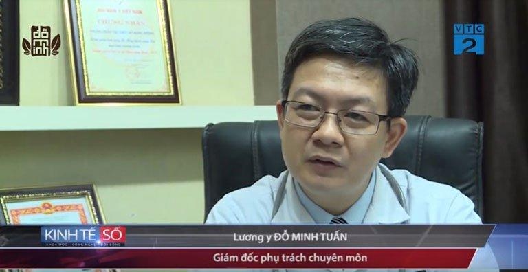 Lương y Đỗ Minh Tuấn được mời làm cố vấn chuyên môn trong chương trình Bản tin kinh tế số VTC2