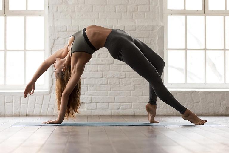 Tập yoga thường xuyên giúp cải thiện tình trạng