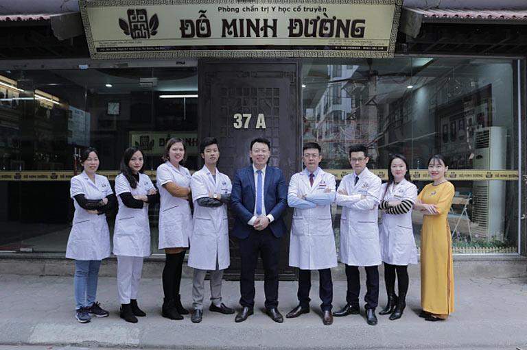Đội ngũ lương y, bác sĩ tại nhà thuốc Nam Đỗ Minh Đường chúng tôi