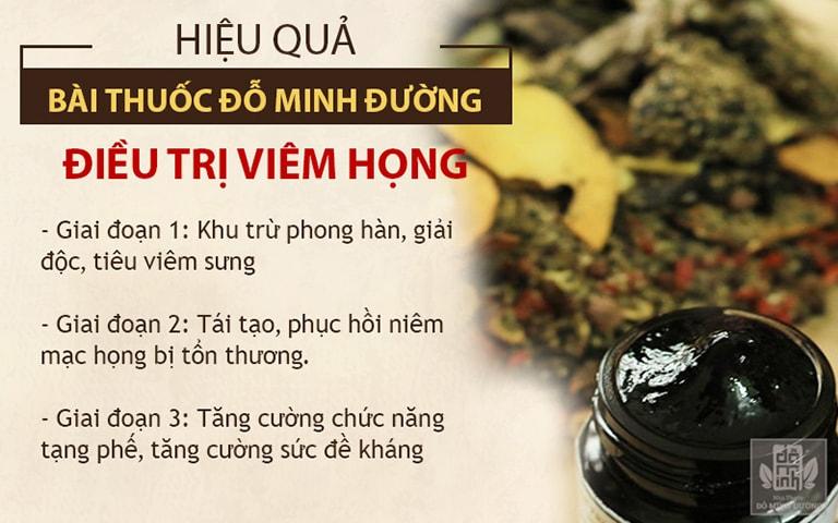 Một trong những bài thuốc được nhiều người tin dùng đó là bài thuốc nam gia truyền tại nhà thuốc Đỗ Minh Đường