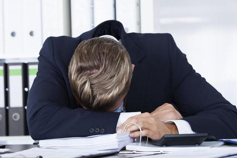 Công việc áp lực khiến chú Khoa mệt mỏi, sức khỏe sa sút