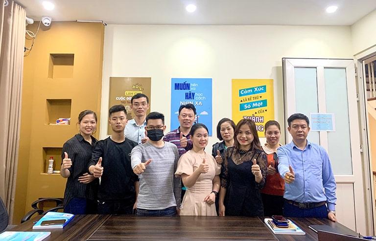 Đội ngũ nhân viên nhà thuốc Đỗ Minh Đường cơ sở Hà Nội