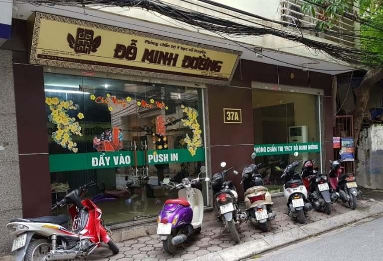 Nhà thuốc Đỗ Minh Đường là một trong những địa chỉ điều trị viêm cổ tử cung uy tín