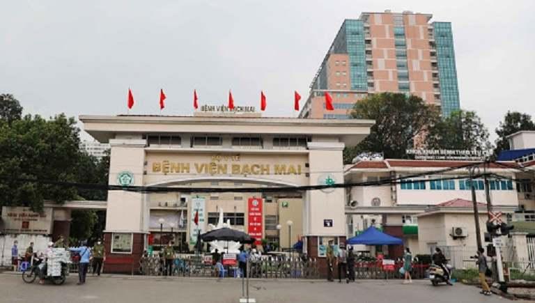 Bệnh viện Bạch Mai là địa chỉ được nhiều chị em tin tưởng lựa chọn để điều trị bệnh
