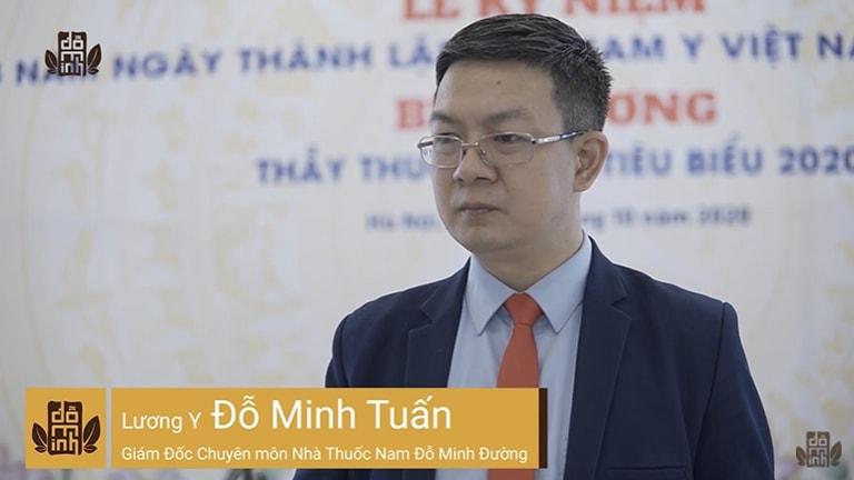 Lương y Đỗ Minh Tuấn vinh dự nhận giải thưởng thầy thuốc tiêu biểu