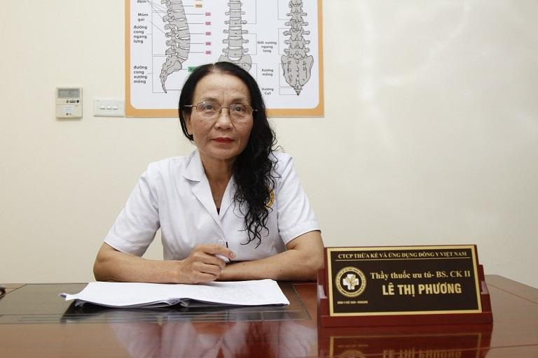 Bs Lê Phương - Chuyên gia nhiều năm kinh nghiệm trong giới YHCT