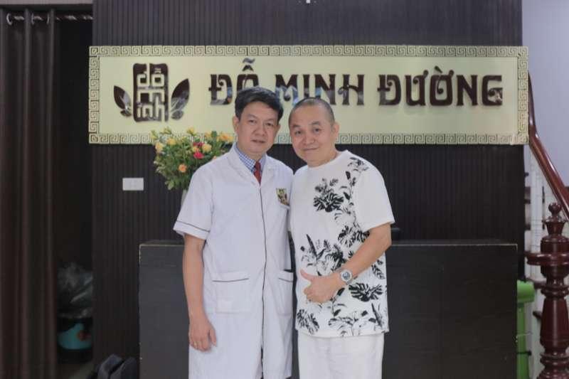 Nghệ sĩ Xuân Hinh chữa thoát vị đĩa đệm tại nhà thuốc Đỗ Minh Đường