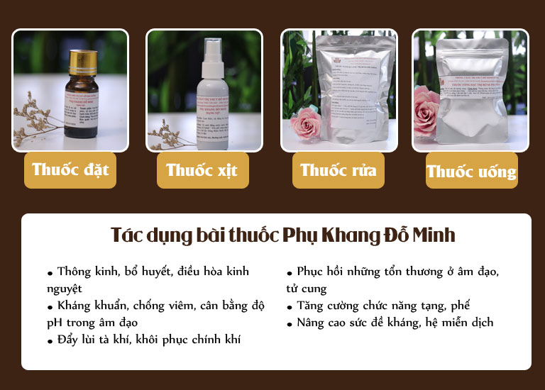 Bài thuốc Phụ khang Đỗ Minh của nhà thuốc Đỗ Minh Đường được nhiều chị em tin tưởng áp dụng chữa viêm cổ tử cung cấp độ 3