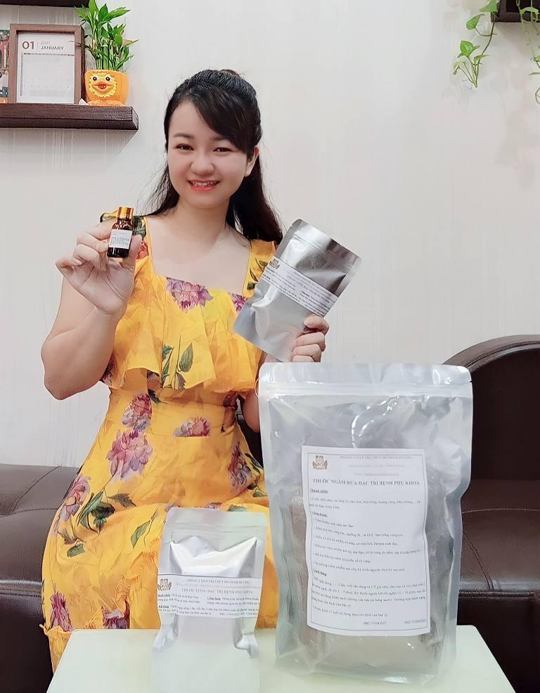 Hot mom Hương moon tin tưởng sử dụng bài thuốc Phụ Khang Đỗ Minh chữa viêm nấm âm đạo khi mang thai