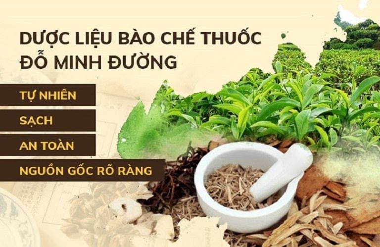An tâm dùng bài thuốc Đỗ Minh Thoát Vị Thang nhờ nguồn thảo dược tự nhiên