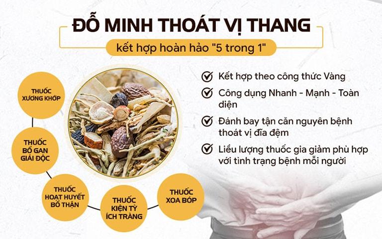Bài thuốc điều trị thoát vị đĩa đệm đốt sống cổ đặc biệt từ Đỗ Minh Đường